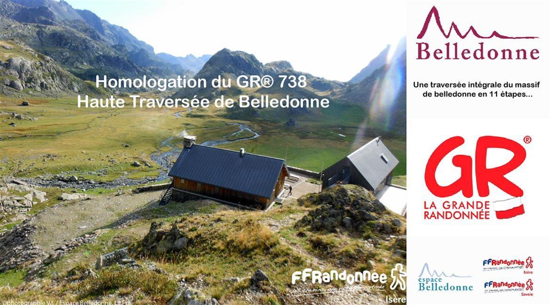 BELLEDONNE : Homologation du GR® 738 Haute Traversée de Belledonne
