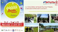 RANDO POUR TOUS® : 11éme édition au lac de Paladru le 12 avril 2017