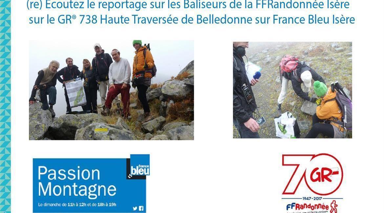 UN REPORTAGE SUR LES BALISEURS DU GR®738