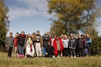 Journée partage pour l'AFIPH et la Section Randonnée de Familles Rurales.