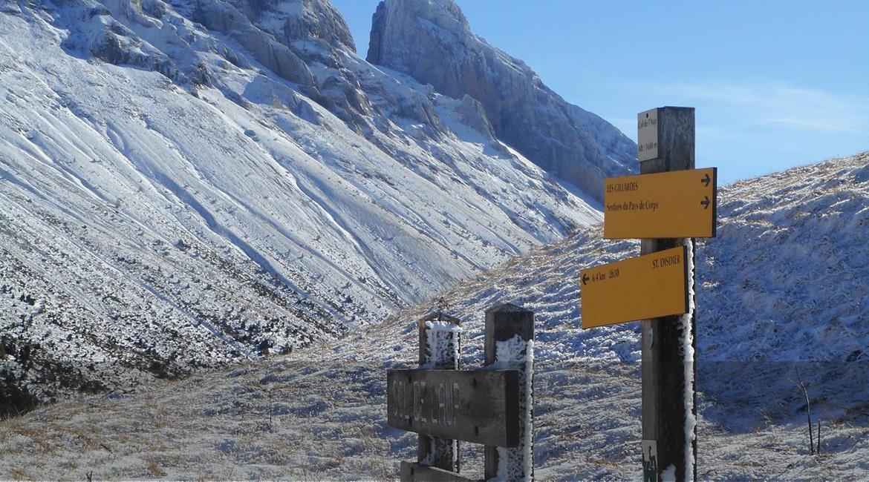 ISÈRE : Comment parcourir les sentiers en hiver