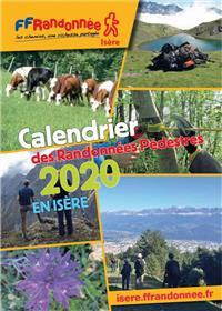 Calendrier des randonnées pédestre 2020