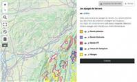 La carte des alpages sur Vercors rando