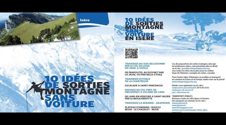 10 idées rando sans voiture en Isère